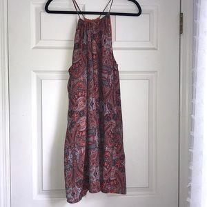 Lucky Brand Spaghetti Strap Halter style dress